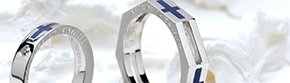 ●八角形(多角形)のリングの写真
