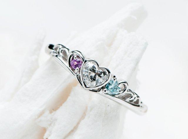 婚約指輪(ティアラ型リング)-2の写真