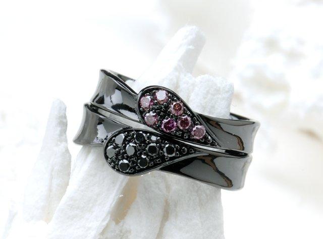 結婚指輪(ブラック仕上げ)-5の写真
