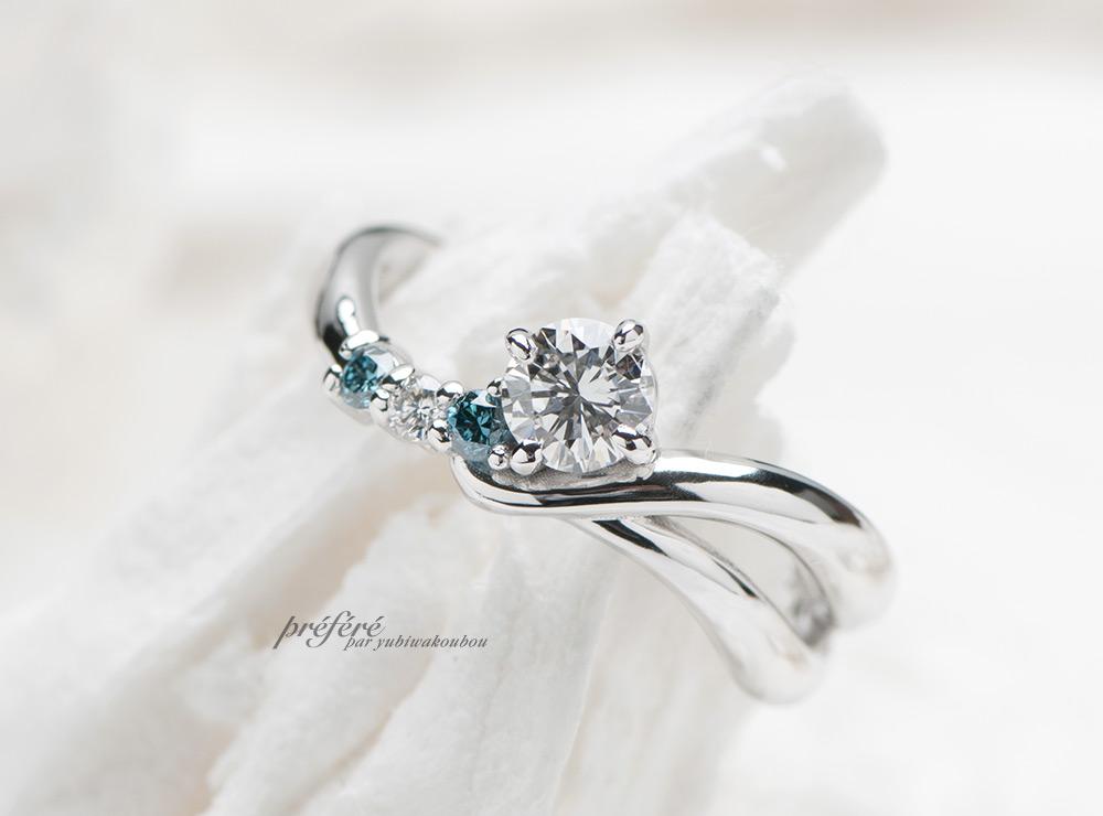 婚約指輪リメイク