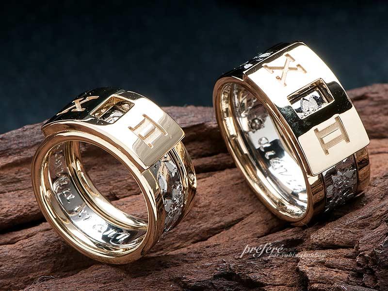 結婚指輪2本セットリング-5の写真
