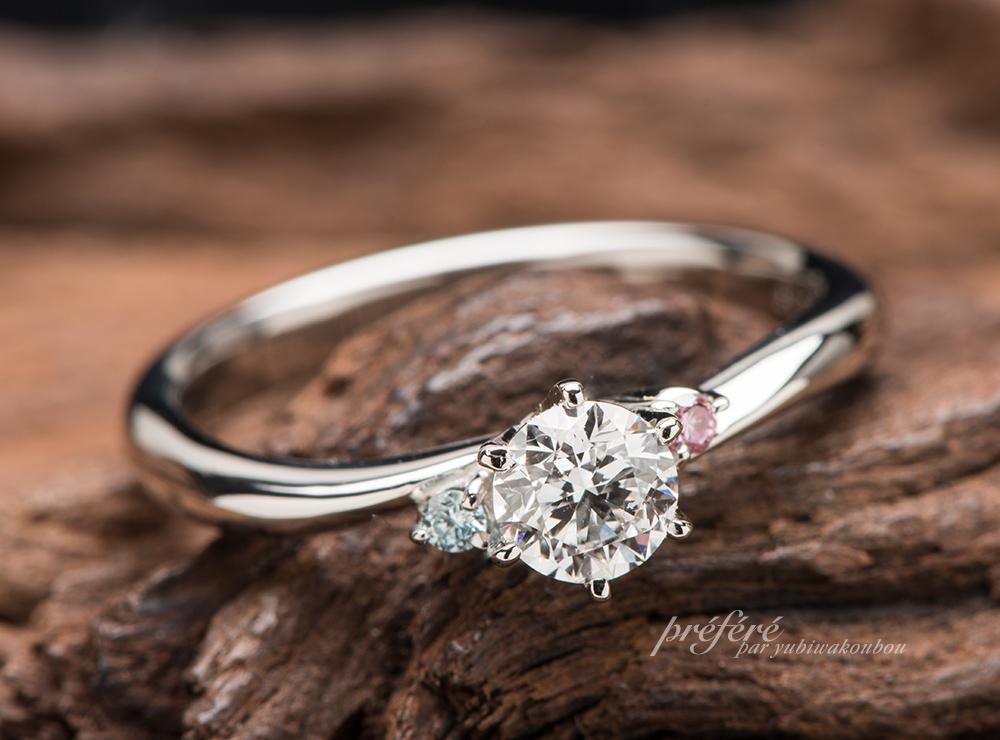 婚約指輪 セミオーダー