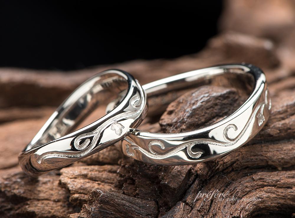結婚指輪オーダー アイビー