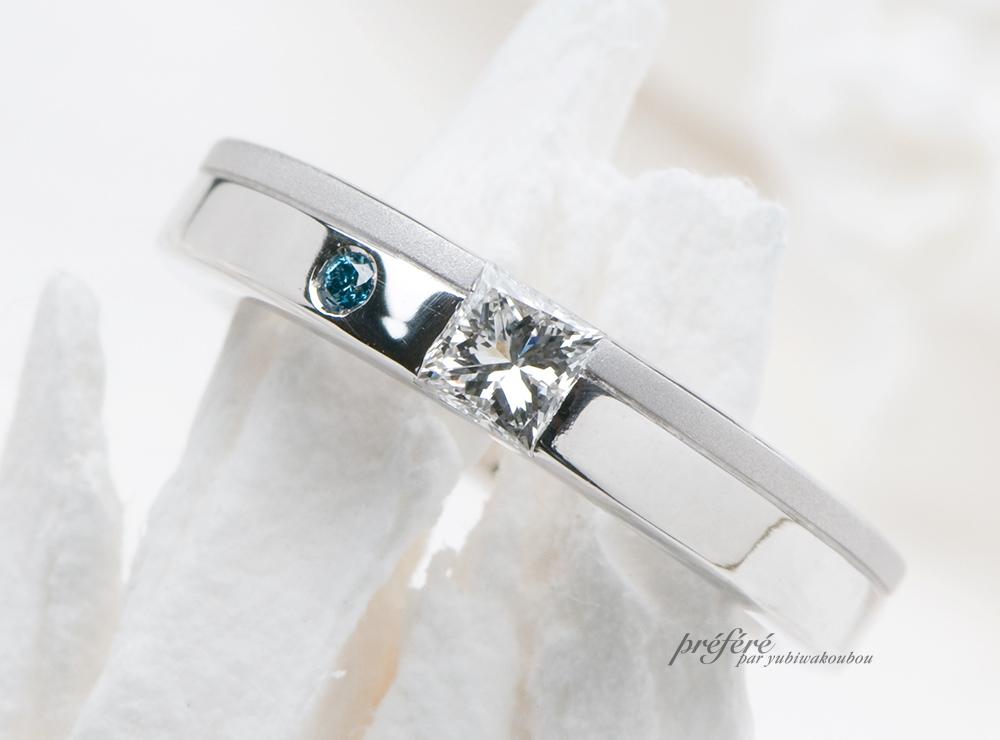 プリンセスダイヤ 婚約指輪オーダー