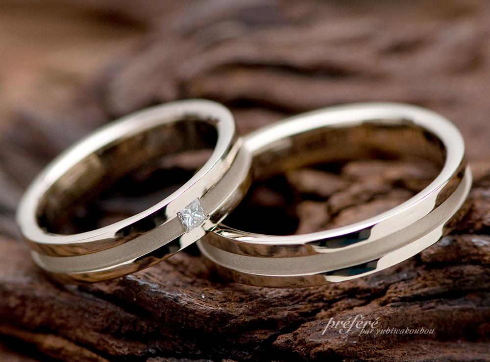プリンセスダイヤ 結婚指輪オーダー
