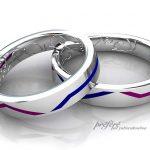 KONAMIのゲームデザインの結婚指輪