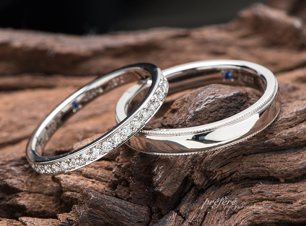 フルエタニティリングの結婚指輪