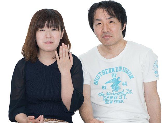 坂田好隆様婚約指輪オーダーお客様
