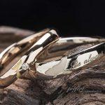 クジラ結婚指輪