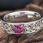 ルビー 結婚記念10周年記念指輪