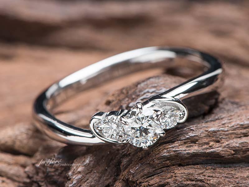 婚約指輪のリメイク