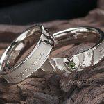 ウサギさんモチーフの結婚指輪