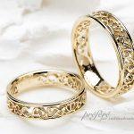 王冠(クラウン),アイビー,イニシャルの結婚指輪