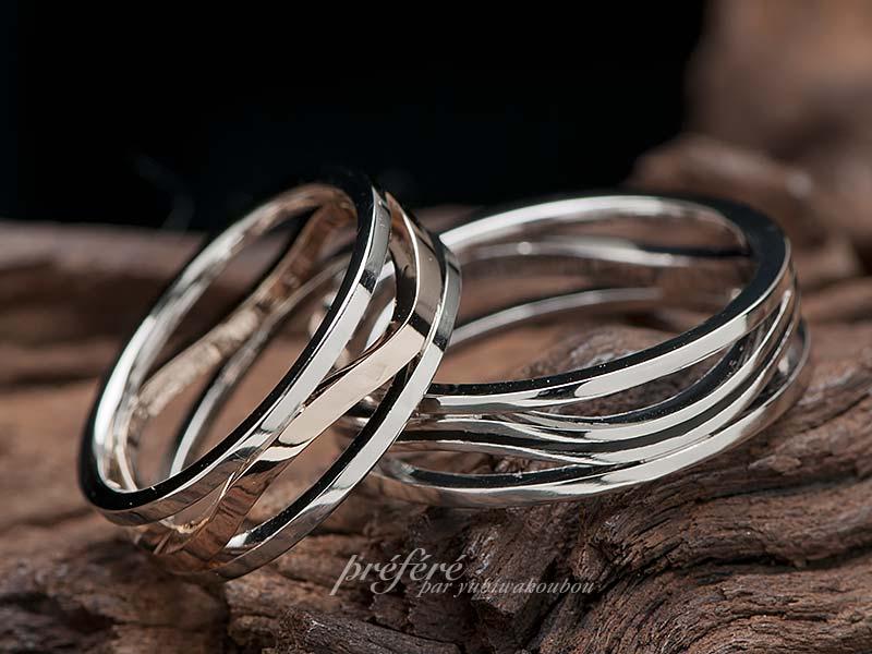 透かしの結婚指輪はオーダーメイド
