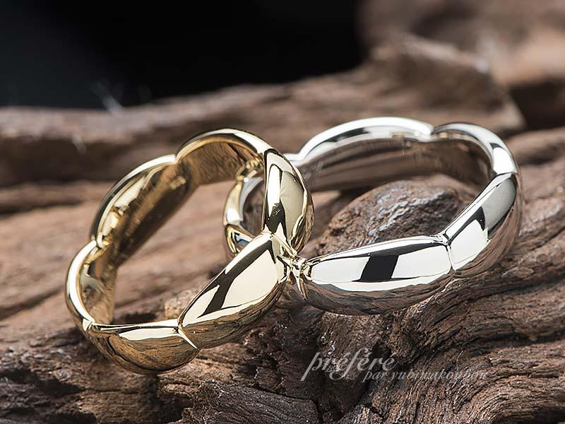 個性的なデザインの結婚指輪はオーダーメイド