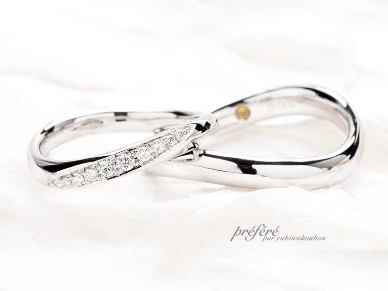メビウスデザインの結婚指輪はオーダーメイド